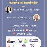 IL FORUM '015 VI INVITA AD INCONTRARE KARIN PROIA E FRANCESCO BELLETTI